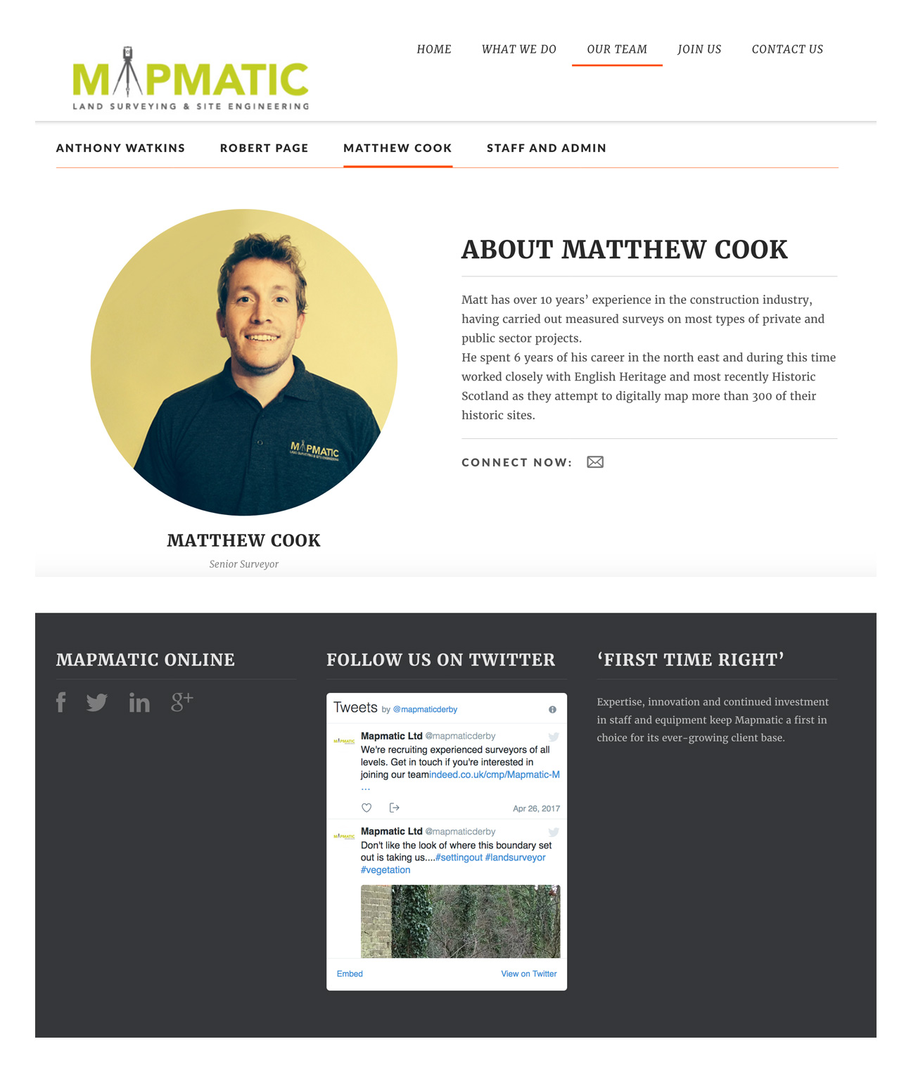 survey website design derby fivecreative