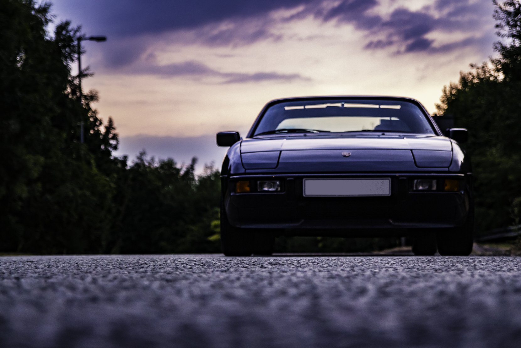 classic car photography derbyshire fivecreative porsche 924S